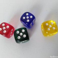 Juegos de mesa: DADOS COLORES . Lote 99352720