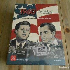 Juegos de mesa: JUEGO DE MESA - 1960: THE MAKING OF THE PRESIDENT - GMT - PRECINTADO - ESTRATEGIA. Lote 99360819