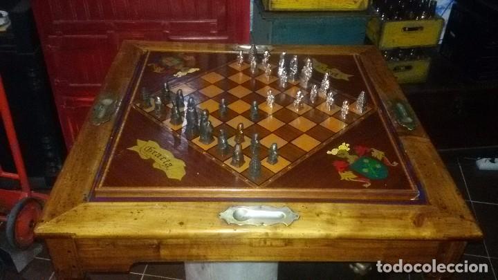 MESA DE JUEGO (Juguetes - Juegos - Juegos de Mesa)