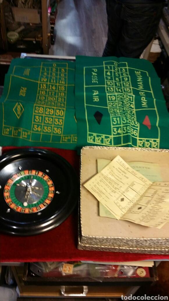 Antiguo Juego De Ruleta Frances Funcionando Cas Comprar Juegos De
