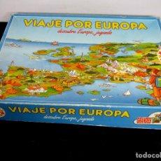 Juegos de mesa: VIAJE POR EUROPA EDUCA - JUEGO DE MESA. Lote 99763467