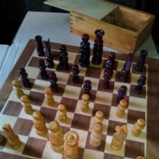 Juegos de mesa: AJEDREZ PIEZAS AÑO (1965). Lote 128675246