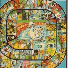 Juegos de mesa: == RR73 - ANTIGUO TABLERO DE JUEGOS REUNIDOS - LA OCA. Lote 99845435