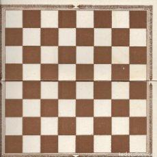 Jogos de mesa: == RR93 - ANTIGUO TABLERO DE JUEGOS REUNIDOS - DAMAS. Lote 99846135