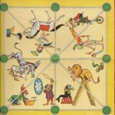 Juegos de mesa: == RR78 - ANTIGUO TABLERO DE JUEGOS REUNIDOS - TRES EN RAYA - ILUSTRADO POR KARPA. Lote 99846431
