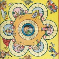 Juegos de mesa: == RR96 - ANTIGUO TABLERO DE JUEGOS REUNIDOS - CRUCERO TURISTICO - ILUSTRADO POR KARPA. Lote 99846743