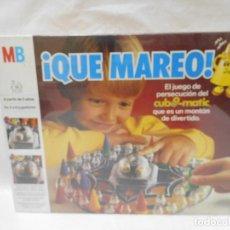 Juegos de mesa: JUEGO DE MESA DE MB QUE MAREO PRECINTADO AÑOS 80. Lote 99851835