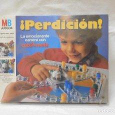 Juegos de mesa: JUEGO DE MESA DE MB PERDICION PRECINTADO AÑOS 80. Lote 116731766