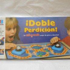 Juegos de mesa: JUEGO DE MESA DE MB DOBLE PERDICION PRECINTADO AÑOS 80. Lote 99852079