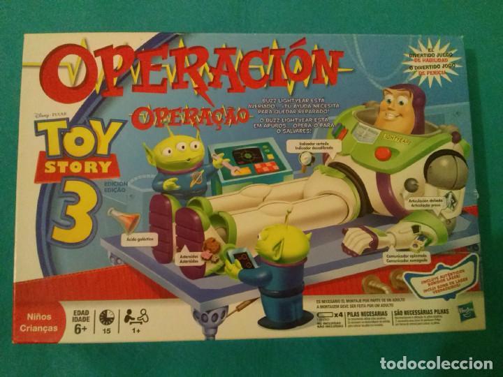 Operacion Toy Story 3 Hasbro Inconpleto Lee Comprar Juegos De