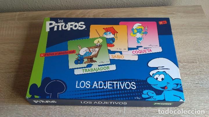 Los Pitufos Los Adjetivos Espanol E Ingles Comprar Juegos De