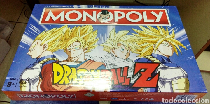 Monopoly De Dragon Ball Z En Completo Castellan Comprar Juegos De