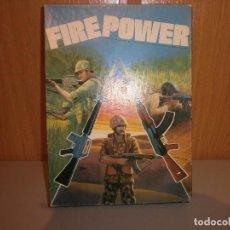Juegos de mesa: JUEGO FIRE POWER BOOKCASE AH GAMES OF STRATEGY ANTIGUO TIPO NAC COMPLETO. Lote 100999691