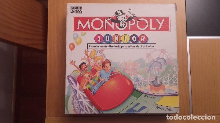 Monopoly Junior Parker 1999 Comprar Juegos De Mesa Antiguos En