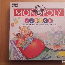 Juegos de mesa: MONOPOLY JUNIOR PARKER 1999. Lote 101054319