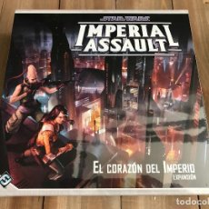 Juegos de mesa: STAR WARS: IMPERIAL ASSAULT - EL CORAZÓN DEL IMPERIO - FF - JUEGO DE AVENTURAS Y ESTRATEGIA. Lote 101059699