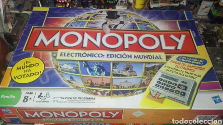 Monopoly Electronico Comprar Juegos De Mesa Antiguos En