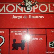 Juegos de mesa: MONOPOLY. Lote 110081640