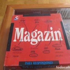 Juegos de mesa: M69 JUEGO DE MESA MAGAZIN. PARA RESPONDONES. AÑOS 80-90-. Lote 102535183