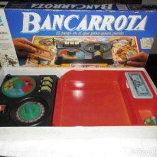 Juegos de mesa: JUEGO MB BANCARROTA EL JUEGO QUE GANA EL QUE PIERDE. Lote 104299634