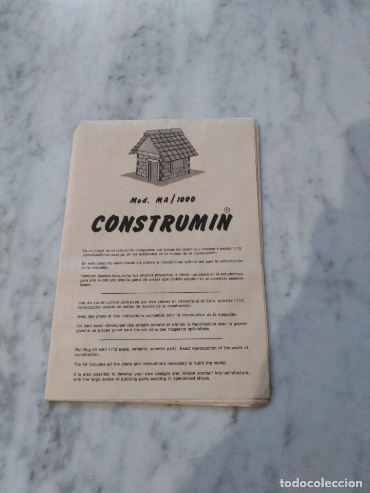 Juegos de mesa: CONSTRUMIN. CONSTRUCCION EN CERAMICA. - Foto 3 - 102574955