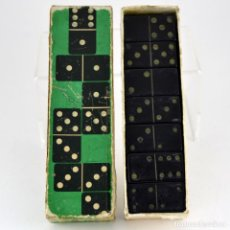 Juegos de mesa: RARO Y ANTIGUO DOMINO JUMBO - MADERA EBONIZADA / UNICO EN LA RED / IDEAL COLECCIONISTAS / COMPLETO. Lote 102631167
