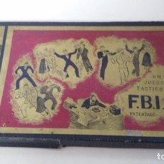 Juegos de mesa: JUEGO DE MESA FBI JUEGOS CRONE AÑOS 60. Lote 102698203