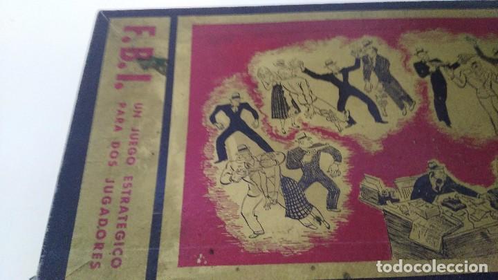 Juegos de mesa: juego de mesa fbi juegos crone años 60 - Foto 2 - 102698203
