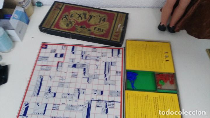 Juegos de mesa: juego de mesa fbi juegos crone años 60 - Foto 4 - 102698203