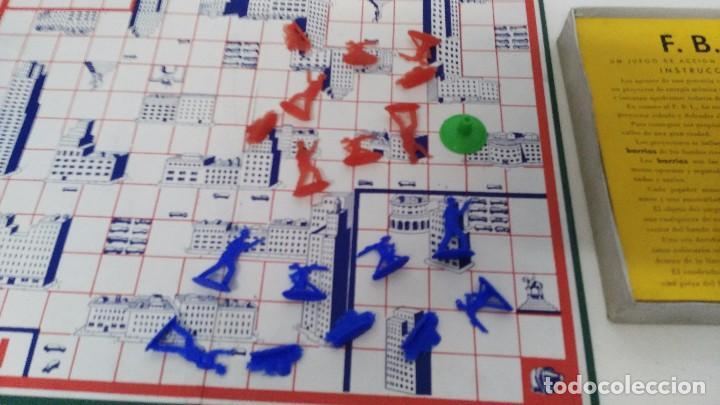 Juegos de mesa: juego de mesa fbi juegos crone años 60 - Foto 6 - 102698203