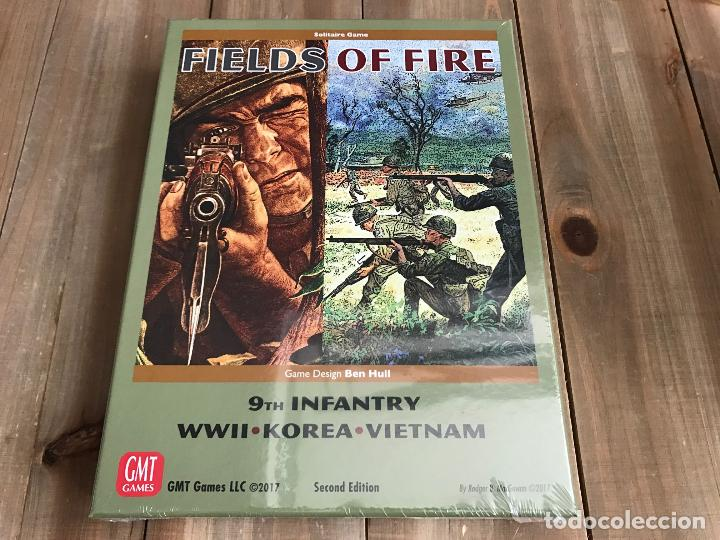 JUEGO WARGAME - FIELDS OF FIRE - GMT, SECOND EDITION - WWII, KOREA, VIETNAM - PRECINTADO (Juguetes - Juegos - Juegos de Mesa)