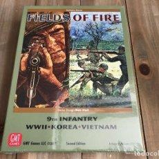 Juegos de mesa: JUEGO WARGAME - FIELDS OF FIRE - GMT, SECOND EDITION - WWII, KOREA, VIETNAM - PRECINTADO. Lote 102796047