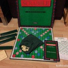 Juegos de mesa: SCRABBLE DE LUXE DE SPEAR'S GAMES / BORRÁS DEL AÑO 1988 CON MARCADOR DE TIEMPO! . Lote 102823211