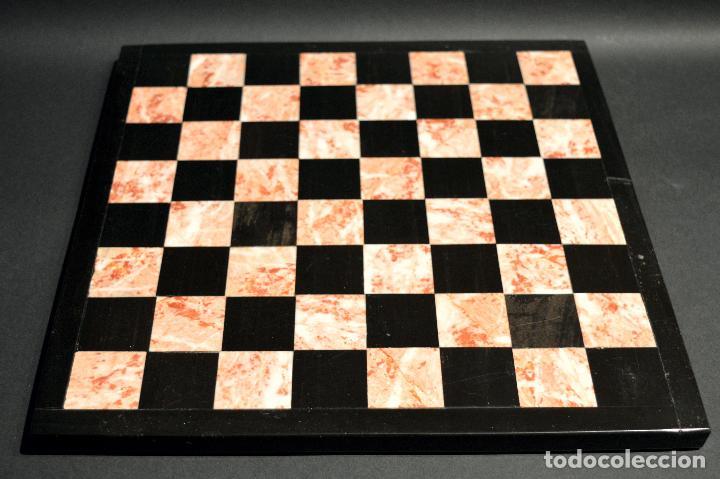 Juegos de mesa: MAGNIFICO AJEDREZ EN MARMOL PIEDRA ONIX - Foto 9 - 102825463