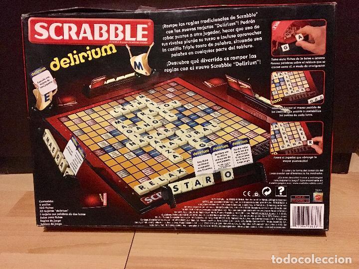 Scrabble Edicion Delirium De Mattel Fichas De Comprar Juegos De