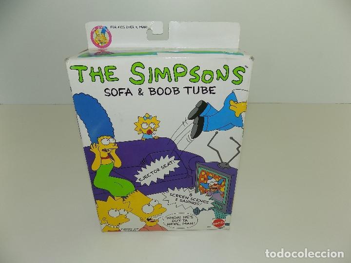 Los Simpsons Sofa Boob Tube Marca Mattel Nu Comprar Juegos De