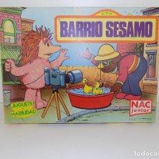 Juegos de mesa: JUEGO DE MESA: BARRIO SESAMO. MARCA NAC. NUEVO, EN PERFECTO ESTADO!. Lote 103056051