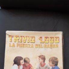 Juegos de mesa: TRIVIO 1000 LA FUERZA DEL SABER DE JUEGOS FALOMIR. Lote 103122104