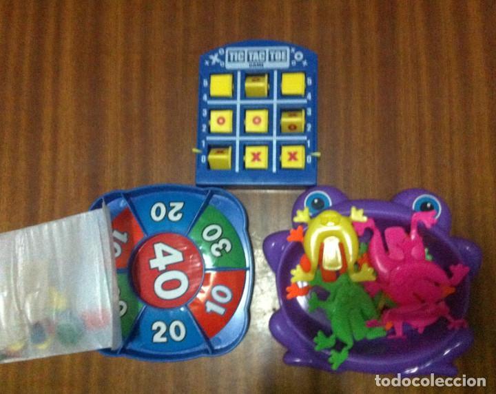 3 Juegos En Uno 3 En Raya Ruleta Y Ranas Juego Comprar Juegos De