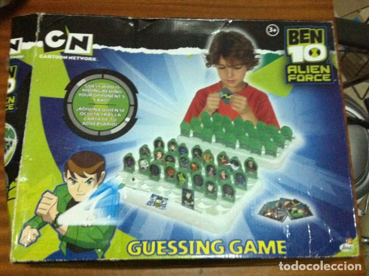Ben Ten Adivina Quien Es Quien Guessing Game Ju Comprar Juegos De