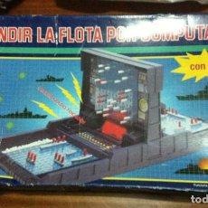 Juegos de mesa: HUNDIR LA FLOTA POR COMPUTADOR CON VOZ JUEGO DE MESA O TABLERO BOARDGAME KREATEN. Lote 103312671