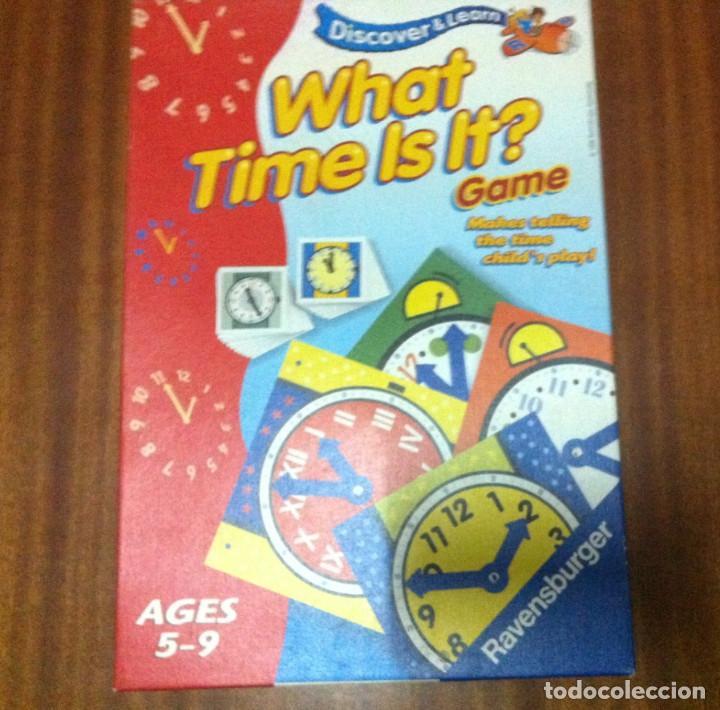 What Time Is It Juego De Mesa Educativo Para N Comprar Juegos De