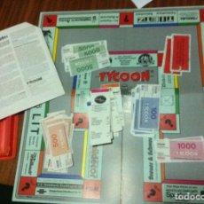 Juegos de mesa: TYCOON (JUEGO TIPO MONOPOLI) JUEGO DE MESA O TABLERO BOARDGAME KREATEN. Lote 103316707