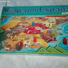 Juegos de mesa: VIAJE POR ESPAÑA JUNIOR- EDUCA- JUEGO DE MESA AÑOS 80. Lote 103404815