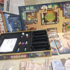Juegos de mesa: JUEGO DE MESA CLUEDO EL GRAN JUEGO DETECTIVES - PARKER - HASBRO - AÑO 2000. Lote 103422167