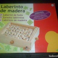 Juegos de mesa: LABERINTO DE MADERA - JUEGO DE HABILIDAD, JAC + 6 AÑOS. Lote 103520583