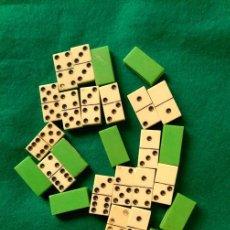 Juegos de mesa: ANTIGUO JUEGO DE DOMINO MINIATURA . Lote 103722995