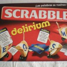 Juegos de mesa: SCRABBLE DELIRIUM (MATTEL) JUEGO DE MESA. Lote 103852447