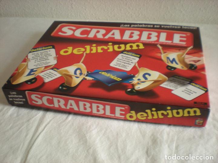 Scrabble Delirium Mattel Juego De Mesa Comprar Juegos De Mesa