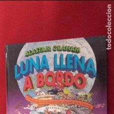 Juegos de mesa: LUNA LLENA A BORDO - A. GRAHAM - ED. B - CARTONE - LIBRO DE JUEGOS. Lote 121733559